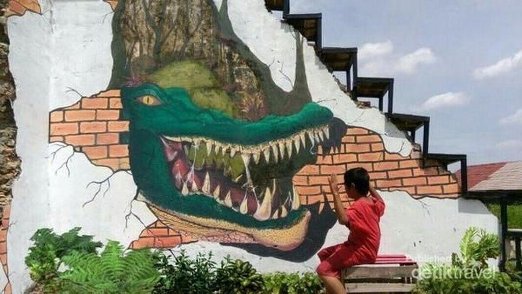 Sambut Asian Games, Palembang Buat Kampung Mural