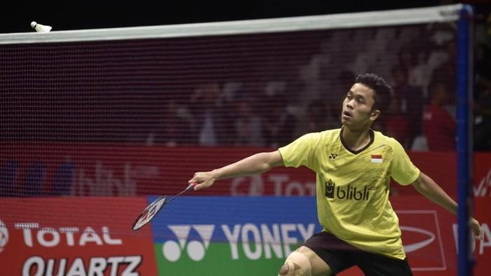 Anthony Ginting adalah salah satu pebulutangkis muda yang menjadi tumpuan harapan Indonesia di masa depan. (Foto: Hafidz Mubarak A/Antara Foto)