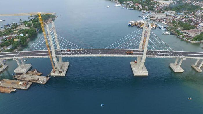 Ilustrasi/Jembatan Merah Putih/Foto: Dok.Kementerian PUPR
