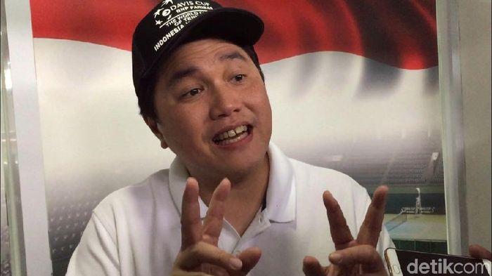 Ketua INASGOC Erick Thohir (Mercy Raya/detikSport)