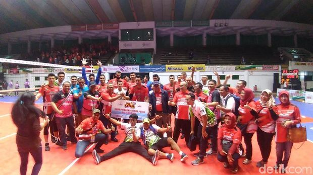 Putra Jakarta Pertamina Energi Juara Putaran Pertama Proliga 2018