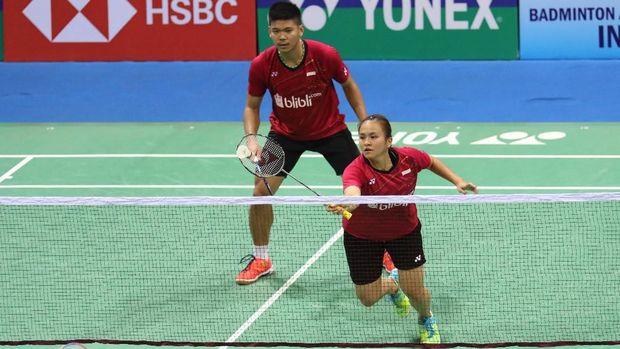 Praveen Jordan/Melati Daeva salah satu pasangan andalan Indonesia saat ini di ganda campuran.