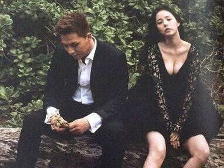 Seksinya Min Hyo Rin di Foto Prewedding dengan Taeyang