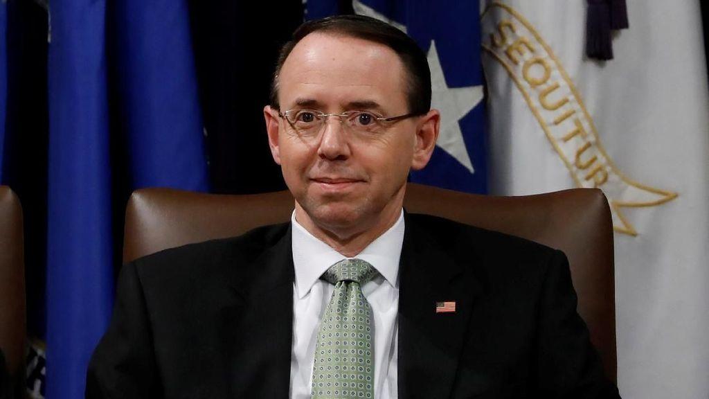 Wakil Jaksa Agung AS yang Tunjuk Penyidik Intervensi Rusia Akan Mundur