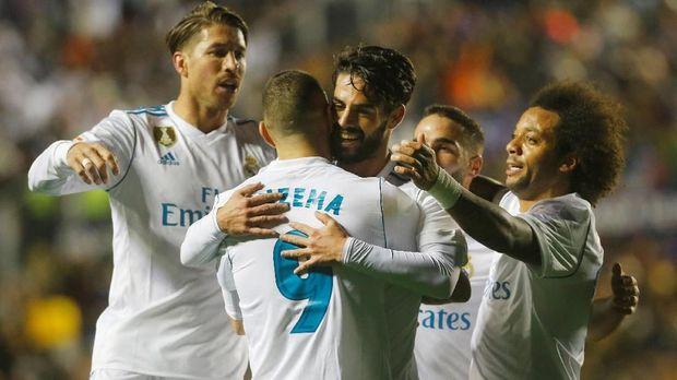 Real Madrid berupaya kembali ke performa terbaik di sisa musim 2017/2018.