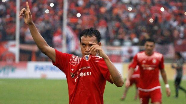 Novri Setiawan menjadi pemain sayap andalan Macan Kemayoran. (