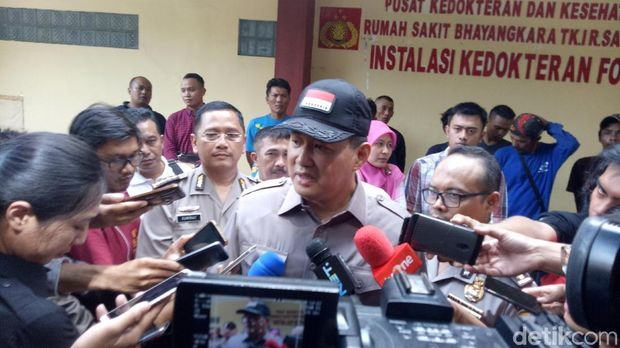 Direktur Pelayananan BPJS Ketenagakerjaan Krishna Syarif di RS Polri, Kramat Jati, Minggu (4/2/2018).