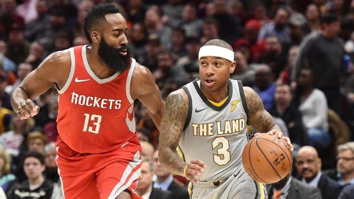 Cleveland Cavaliers kalah dari Houston Rockets (Ken Blaze-USA TODAY Sports)