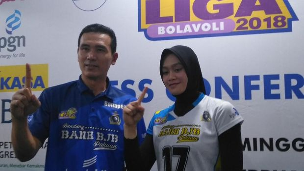 Bandung Bank BJB Pakuan Kalahkan Jakarta PGN Popsivo Polwan