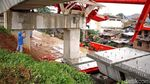 Foto: Suasana Terkini di Lokasi Crane DDT Ambruk di Jatinegara