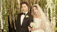 Min Hyo Rin tak pernah gagal tampil cantik termasuk saat menikah dengan Taeyang BingBang. Meski makeup yang dipakai sangat-sangat natural, Min Hyo Rin benar-benar tampil memukau. Foto: dok. Instagram