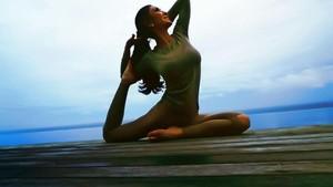 Foto: Junita Liesar, Sosialita Cantik yang Senang Olahraga