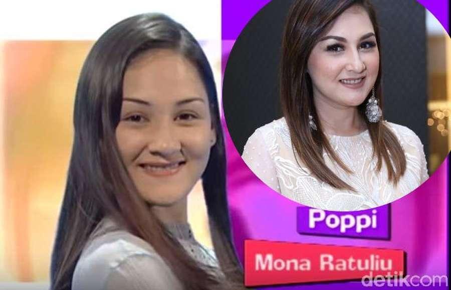 Masih Mabuk Dilan? Ini Mona Ratuliu Si Poppy-nya Lupus yang Awet Muda