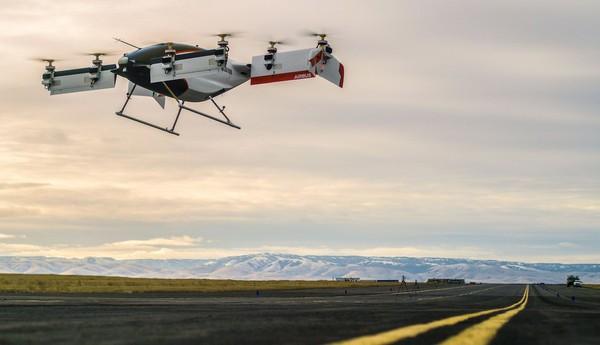 Perusahaan pembuat pesawat Airbus sukses meguji coba taksi terbang mereka. Taksi terbang ini diberi nama Vahana. (dok. Vahana Aero)
