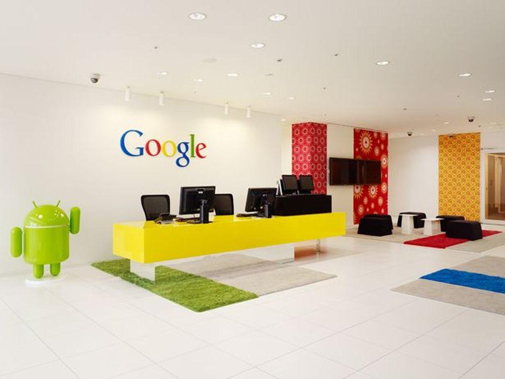 Kantor Google di Tokyo ini termasuk masih baru. Foto: Office Snapshot