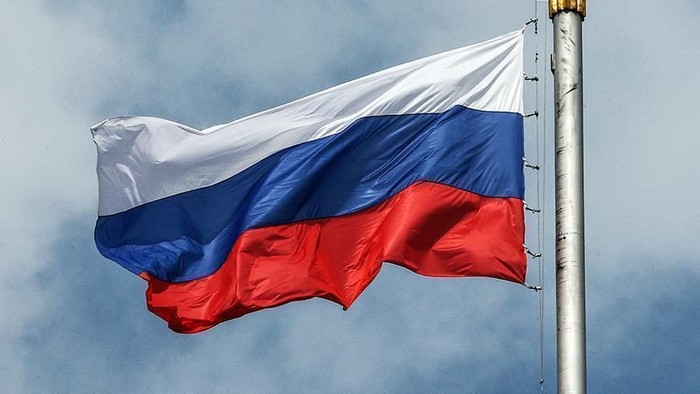 Ilustrasi bendera Rusia