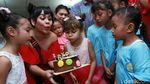 Keseruan Melanie Ricardo Rayakan Ultah Anak di SLB