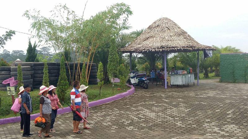 Selain Gunung Kerinci dan Candi Muaro Jambi, di Jambi juga ada tempat hits bernama Jambi Paradise. (Raja Adil Siregar/detikTravel)