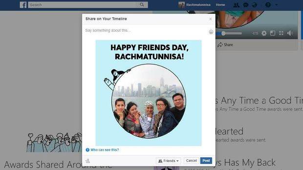 Yuk Bikin Video Hari Pertemanan Facebook 2018