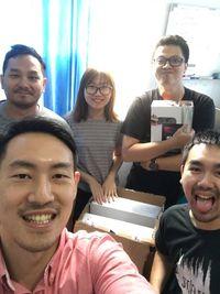 Kris dan kawan sudah mendapatkan DevKit Nintendo Switch.