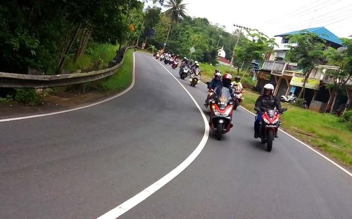 Pencinta PCX Ngegas di 9 Kota Lestarikan Wisata Indonesia