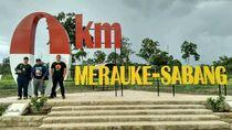 Melihat Sota, Titik 0 Km Indonesia di Merauke