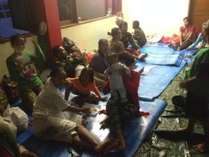 Banjir Rendam Kampung Arus Jaktim, Warga Mulai Mengungsi