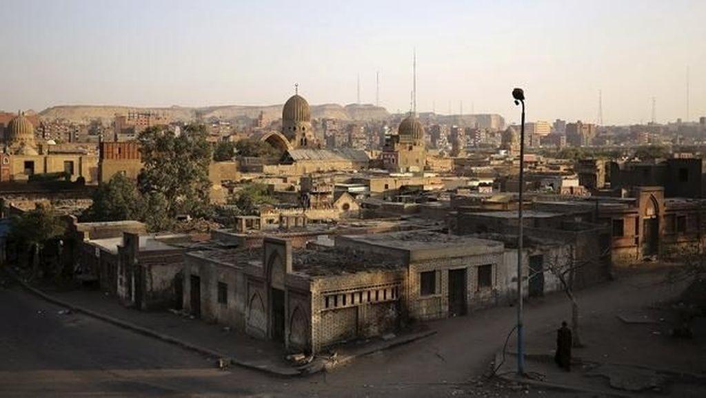 Foto: Kota Kematian di Mesir