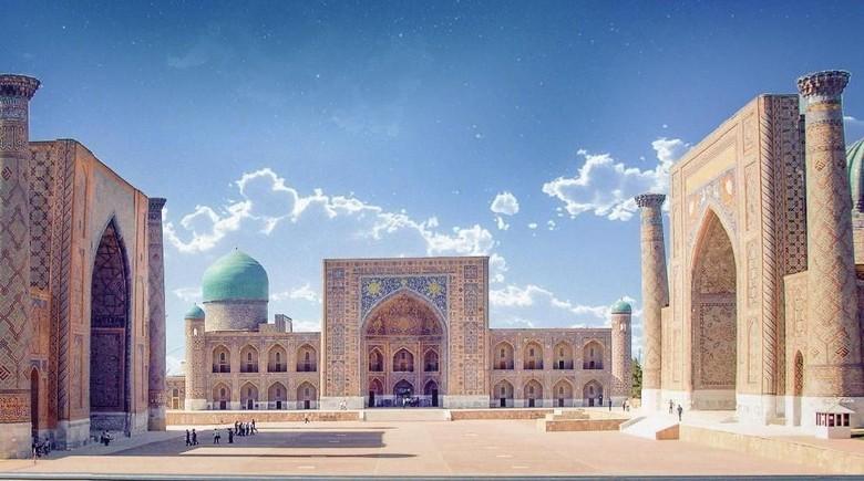 Kota tua Samarkand