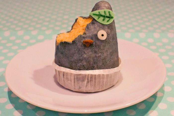 Cake pop berbentuk Toroto ini bentuknya lucu. Teksturnya lembut dan rasanya manis enak. Foto: Istimewa