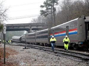 Insiden di Carolina AS, Kereta Amtrak yang Bawa Penumpang Salah Jalur