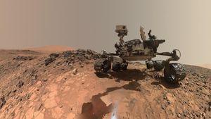 Sudah Banyak Peneliti dari Bumi Berkeliaran di Mars