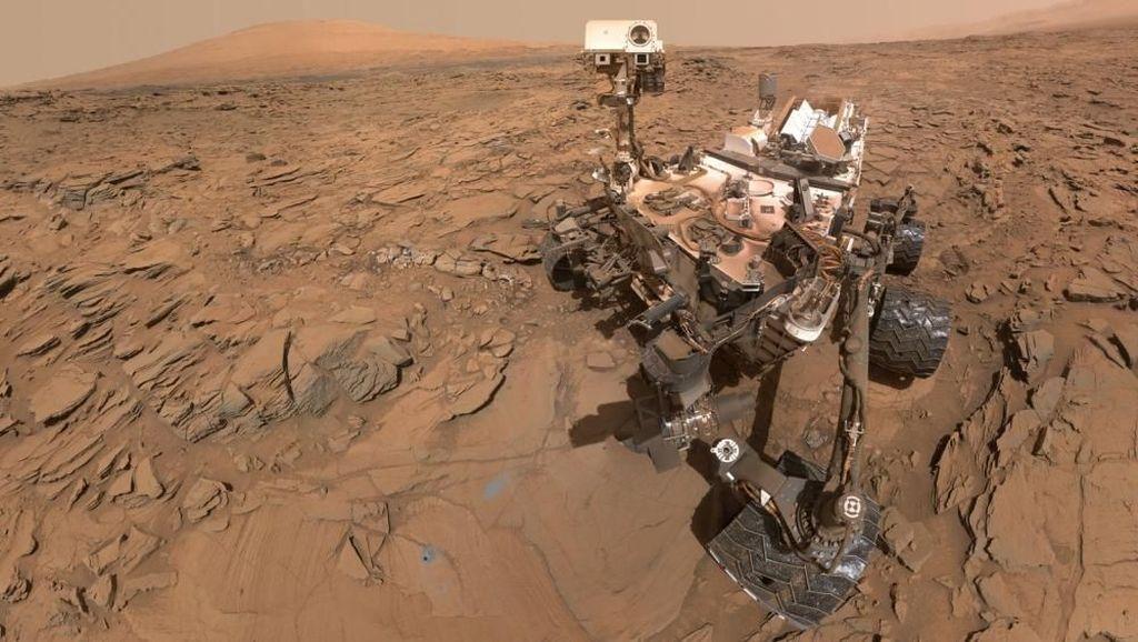 Curiosity, Robot Penjelajah Mars yang Hobi Selfie