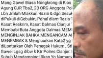 Viral Polisi Cianjur Diduga Pukuli Warga, Begini Faktanya