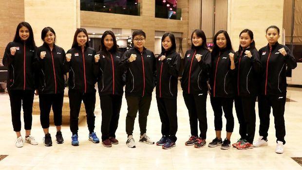 Tim putri Indonesia akan memulai kualifikasi dengan menghadapi Singapura.
