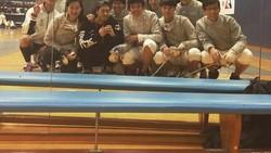 Jackson Wang dari grup musik GOT7 punya gaya sendiri untuk memamerkan lengannya yang kekar yakni dengan kaos tanpa lengan. Penasaran seperti apa olahraganya?