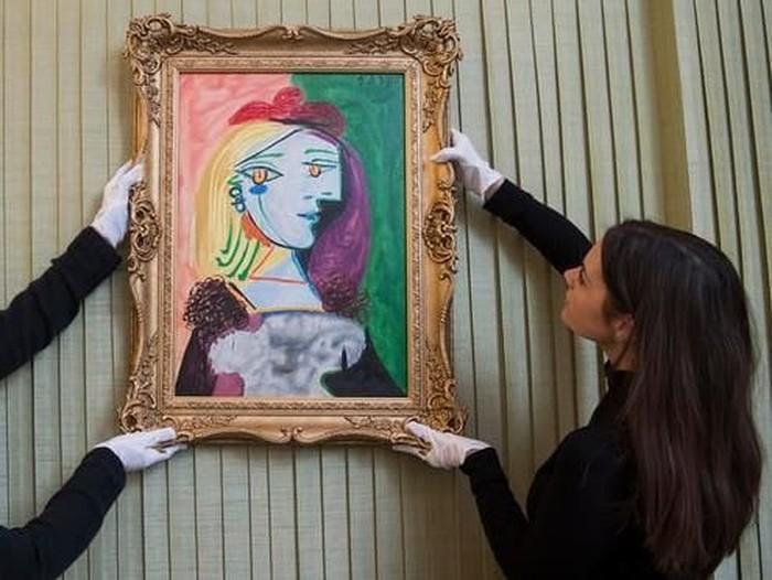 Lukisan Pablo Picasso diganti namanya