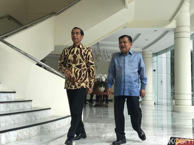 Mengintip Gaji Jokowi-JK