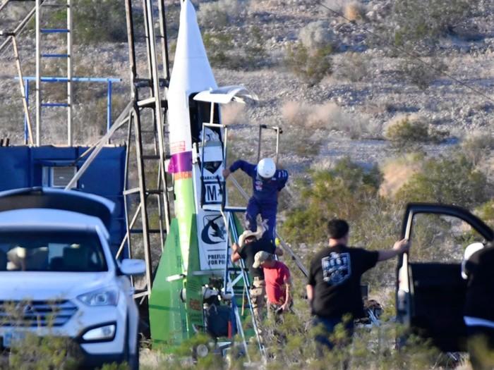 Mike Hughes kembali gagal terbang. Foto: Livescience