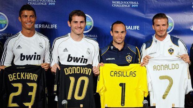 Sara Carbonero mengaku hubungan Iker Casillas dengan Cristiano Ronaldo tidak ada masalah.