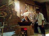 Repilka pembuatan jenang Kudus di Museum Jenang