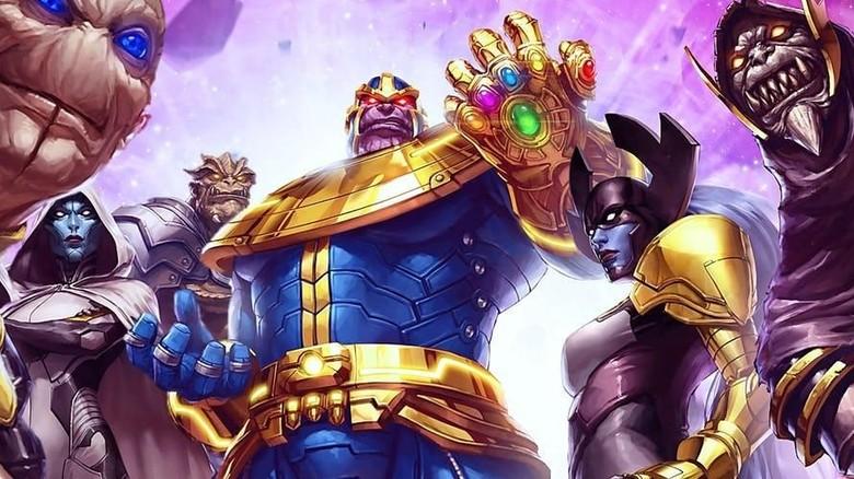 Artwork Avengers: Infinity War Ungkap Anggota Black Order