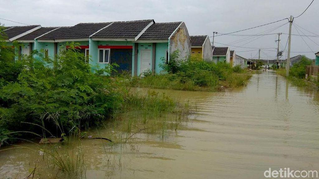 Ini Penyebab Banjir di Komplek Rumah DP 1 % Jokowi