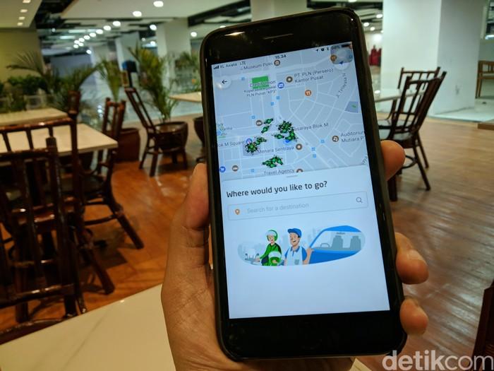 Aplikasi Go-Jek. Foto: Adi Fida Rahman/detikINET