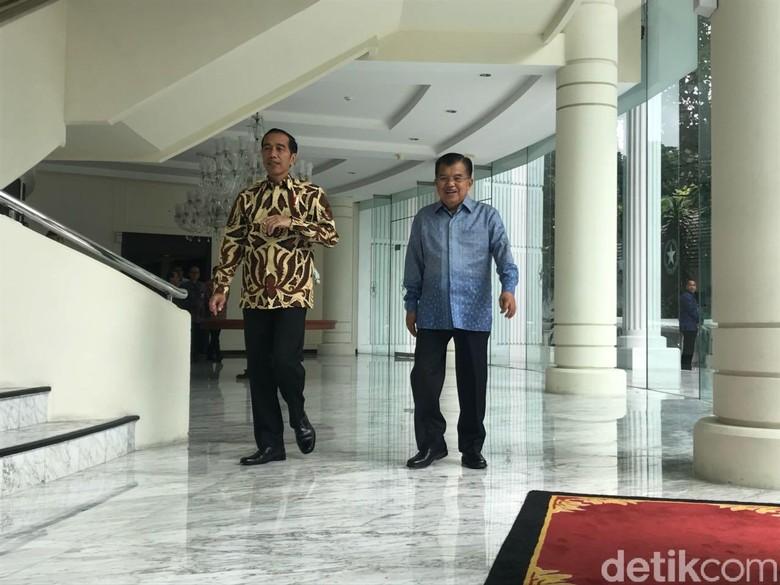 JK Dukung Jokowi Maju Pilpres 2019