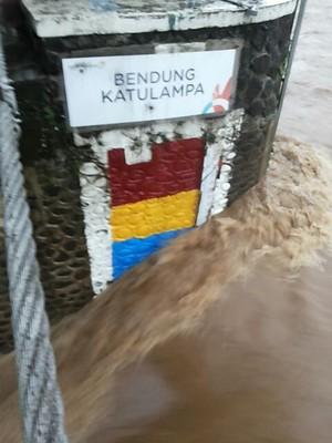 Katulampa Siaga II, Wilayah di Jakarta Diminta Antisipasi Banjir