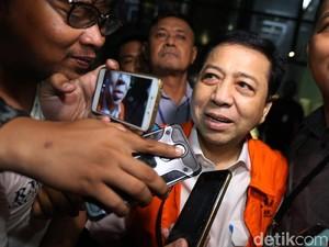 Novanto Larang Fredrich Marah-marah Saat Jadi Pengacaranya