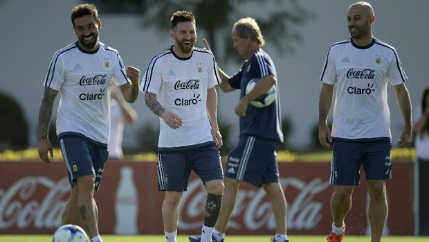 Messi tidak senang dengan banyaknya orang yang pesimistis timns Argentina tidak akan bisa menjuarai Piala Dunia.