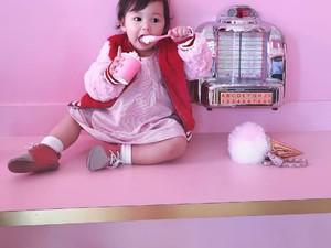 Imutnya Gadis Kecil Berdarah Filipina, AS, dan Korsel Ini