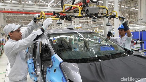 Mengintip Proses Pembuatan Xpander di Pabrik Bekasi